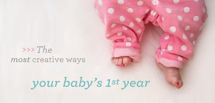 First Year Journey of a Newborn Baby