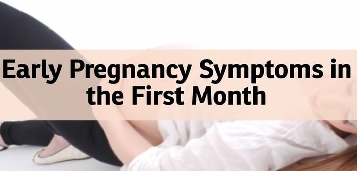First Month of Pregnancy