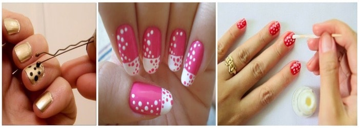 Easy diy nail art ideas just a couple of tricks and you are all set to rock with some new designs of your nails some of the tricks even can be tried on your home prinsesfo Image collections
