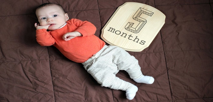 Physical Changes and Development of 5 Months Old Baby