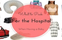 What to Pack for Hospital during Pregnancy?