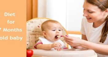 What is the Right Diet for Seven Months Old Baby?