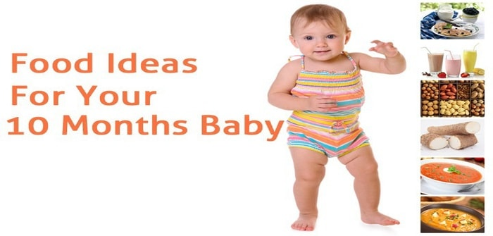 What is the Right Food for 10 Months Old Baby?