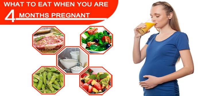 Right Diet during the 4th Month of Pregnancy